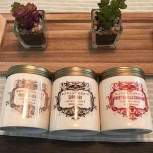Bundle of Anthro Boulangerie Candles